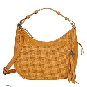 NWOT**Lucky Brand Ebon Perforated Bag
